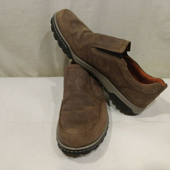 Ecco Mens Receptor Shoes EU 46 US 12 Casual  Slip